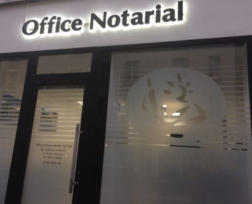 Photo de la devanture - Office Notarial MARIE-SUTTER 92410 Ville-d'Avray