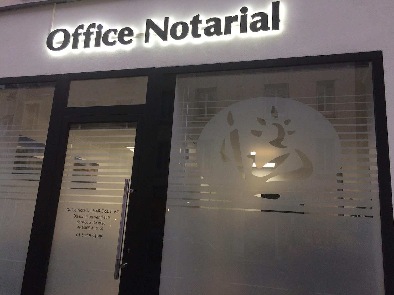 Photo de la devanture - Office Notarial MARIE-SUTTER 92410 Ville-d'Avray