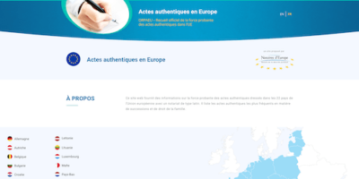Site Internet des Actes authentiques en Europe - Notaire Ville-d'Avray 92410 - Office Notarial Maître Delphine MARIE-SUTTER