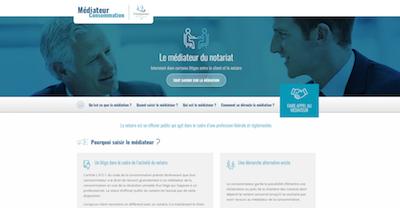 Nouveau site Internet pour contacter le médiateur des Notaires - Notaire Ville-d'Avray 92410 - Office Notarial Maître Delphine MARIE-SUTTER