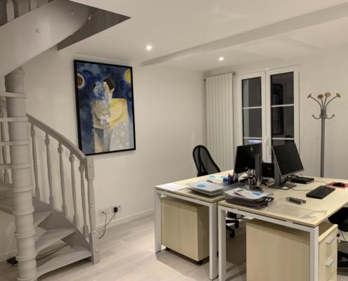 Photo de l'étage 2 - Bureau des notaires assistants - Office Notarial MARIE-SUTTER 92410 Ville-d'Avray